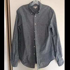 Men's Target Button Up Shirt